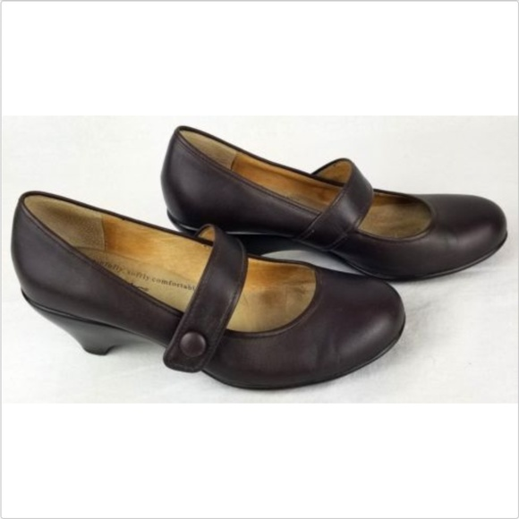 Softspots Shoes - Softspots women's brown closed toe shoes